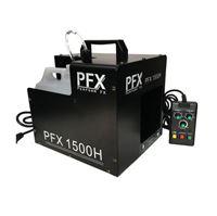 Immagine di Macchina della Nebbia 1500 Watt PFX1500H DMX Hazer