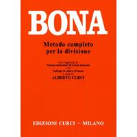 Immagine di BONA - METODO COMPLETO PER LA DIVISIONE - ED. CURCI