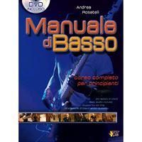 Picture of  Manuale di Basso Vol.1 + DVD - Rosatelli