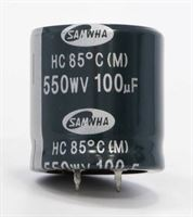 Picture of Electrolytic capacitor for Marshall 100uF 550V Snap-in