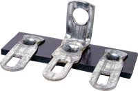 Picture of Terminal Strip - 3 Lug, 2nd Lug Common, Horizontal MADE IN USA