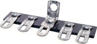 Picture of Terminal Strip - 5 Lug, 3rd Lug Common, Horizontal