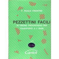 Immagine di F. PAOLO FRONTINI - PEZZETTINI FACILI in ordine progressivo per pianoforte a 4 mani