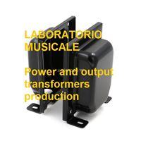 Immagine di Calotta per trasformatori EI108 C36 alta qualità vernicitaura nera