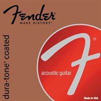 Picture of Fender Dura-Tone® Coated 80/20 Acoustic Guitar Strings L 012