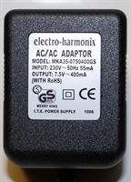 Picture of Electro Harmonix 7.5V / 400mA Power Adaptor Genuine replacement