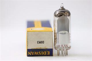 Immagine di Philips EM80 / 6BR5 Occhio magico Valvola selezionata