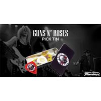 Picture of Dunlop GNR002 GUNS N ROSES 6 Plettri in scatola di latta