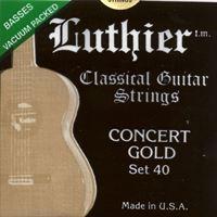 Picture of LUTHIER Concert Gold Set 40 - Muta di corde chitarra classica