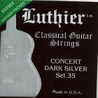 Picture of LUTHIER Concert Dark Silver Set 35 - Muta di corde chitarra classica