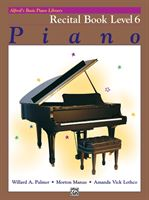 Picture of Alfred's Basic Piano Library: Recital Book 6