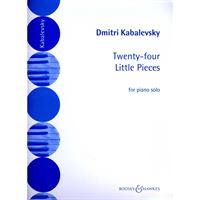 Immagine di 24 PICCOLI PEZZI OP. 39 - DMITRI KABALEVSKY - Ricordi