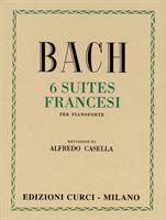 Picture of 6 Suites francesi - Johann Sebastian Bach - Curci