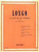 Picture of 12 Studi di Terze Op. 35 per pianoforte - Alessandro Longo - Ricordi