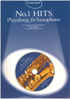 Picture of No. 1 HITS Playalong for Saxophone - Guest Spot - Music Sales