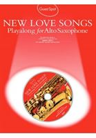 Picture of Guest Spot Playalong for Alto Saxophone - New Love Songs & CD