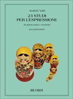 Picture of 23 Studi Per L'Espressione Di Autori Russi e Sovietici - Ricordi