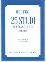 Picture of 25 Studi op. 29 - Henry Jerome Bertini - Curci