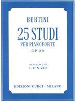 Immagine di 25 Studi op. 29 - Henry Jerome Bertini - Curci