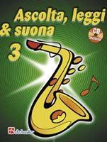 Picture of Ascolta, Leggi & Suona 3 saxofono contralto - Metodo per saxofono contralto Di Michiel Oldenkamp, Jaap Kastelein - De Haske