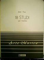 Immagine di 18 Studi Per Tromba - Jean Fuss - Scomegna