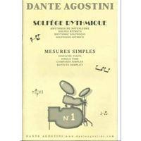 Immagine di Solfege Rytmique Volume 1 - Dante Agostini