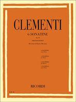 Immagine di 6 Sonatine Op. 36 - M. Clementi - Ricordi