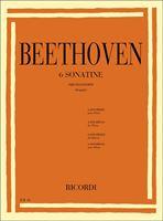 Immagine di 6 Sonatine per Pianoforte - L. van Beethoven - Ricordi