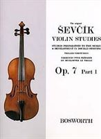 Immagine di The Original Sevcik Violin Studies Op. 7 Part 1 - Otakar Sevcik - Bosworth