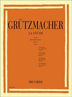 Picture of 24 Studi Op.38 - Libro II (Pais) - Friedrich Grützmacher - Ricordi