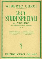 Immagine di 20 Studi speciali nell'ambito della prima posizione - A. Curci