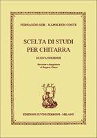 Immagine di Scelta Di Studi Per Chitarra - F. Sor