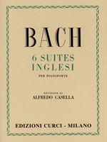 Immagine di 6 Suites inglesi - Johann Sebastian Bach - Curci