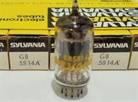 Immagine di 12AU7 / GB-5814A SYLVANIA Gold Brand NOS